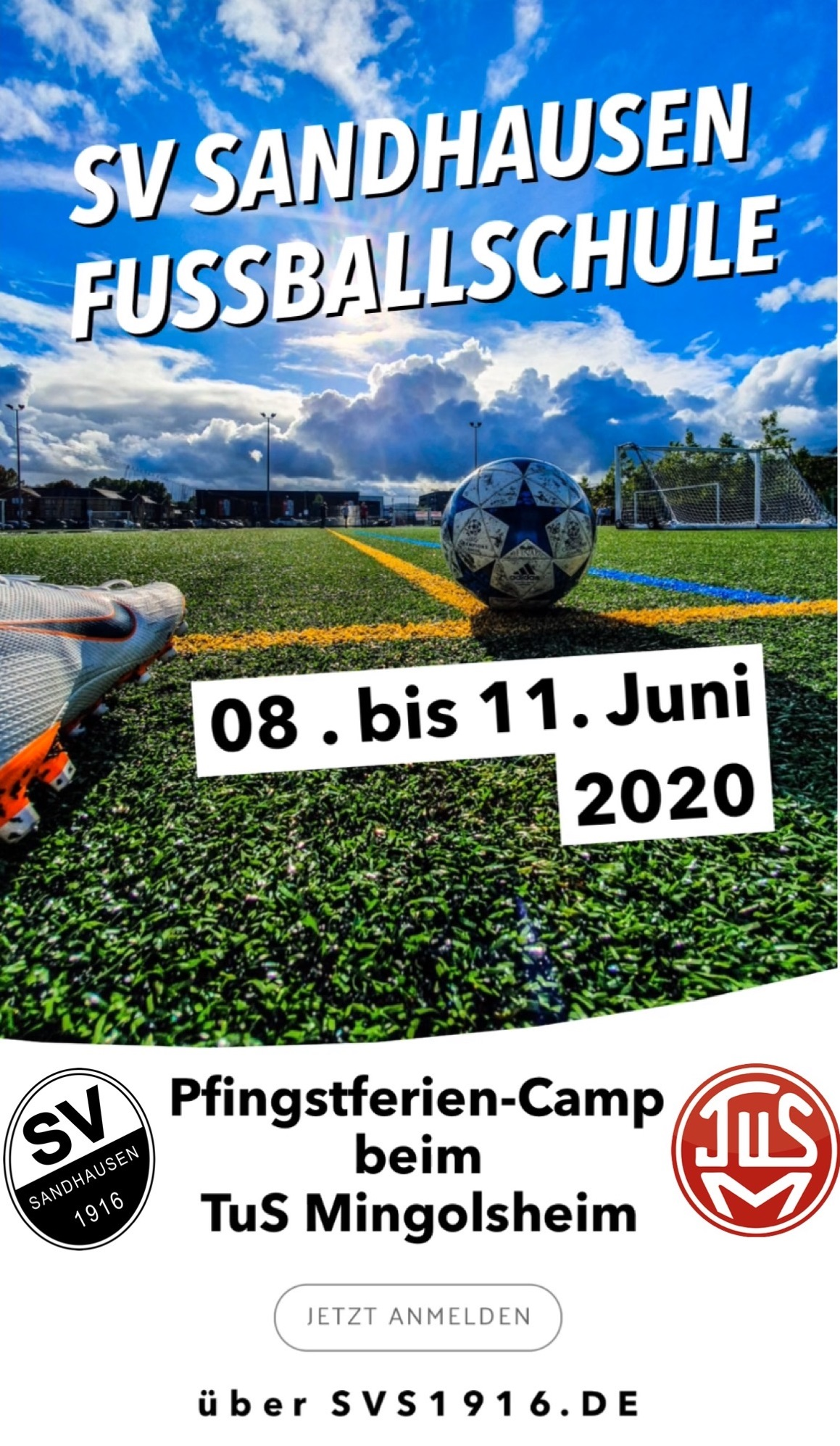 Fussball-Camp 2020