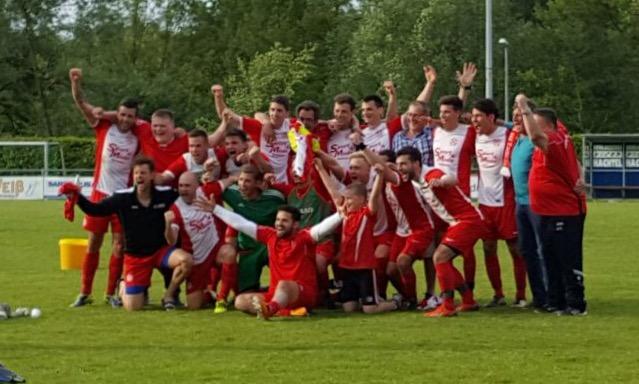 In Bretten machte der TuS Mingolsheim am vorigen Wochenende den Aufstieg in die Landesliga perfekt - am Sonntag wird in der Sportpark Arena kräftig gefeiert